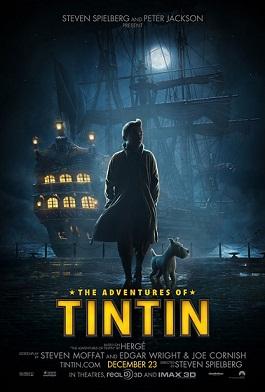 Le avventure di Tintin - locandina originale