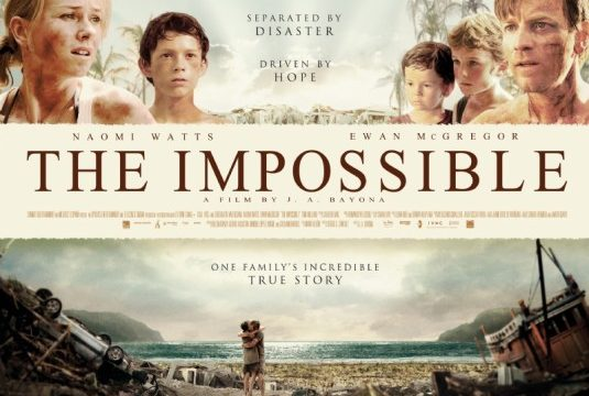 THE IMPOSSIBLE – da giovedi 31 gennaio al cinema