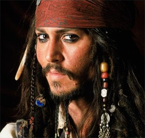 Johnny Depp - Capitano Jack Sparrow