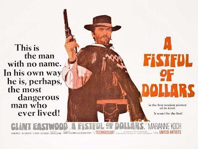 Clint Eastwood #15 Per un pugno di dollari