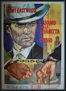 Clint Eastwood #20 L'uomo dalla cravatta di cuoio